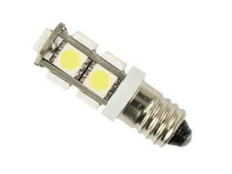 Car LED Bulb E10 9 SMD 5050 12V