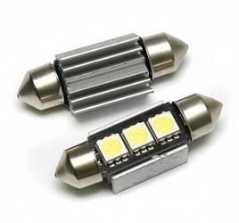 Car LED bulb C5W 3 5050 SMD CAN BUS