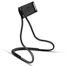 N005-Black | Universal stand | neck holder / selfie stick for the phone
