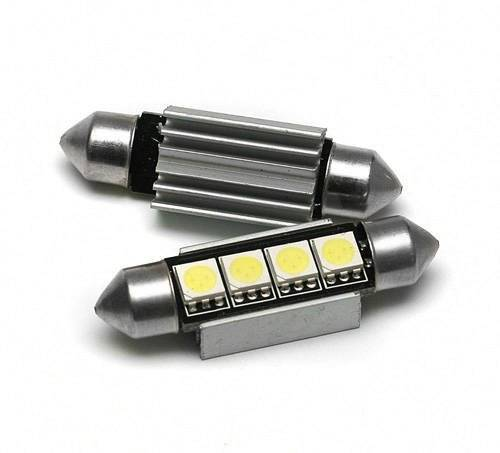 Bulb C5W Car LED 4 SMD 5050 CAN BUS