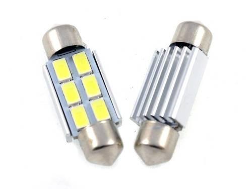 C5W LED Bulb Car 6 SMD 5630 CAN BUS