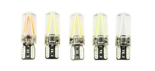 Car Bulb T10 W5W COB LED 12V 24V 360 * Filament