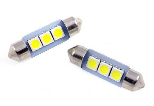 Car LED bulb C5W 3 SMD 5050