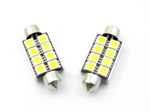 Car LED bulb C5W 8 5050 SMD CAN BUS