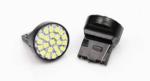 Car LED bulb T20 W21W WY21W 22 SMD 1206 FRONT