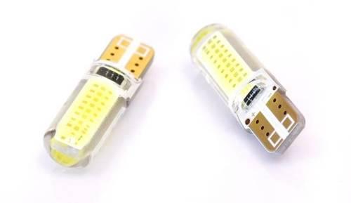 Car LED bulb W5W T10 1W COB 360st Silicone