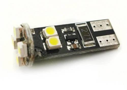 Car LED bulb W5W T10 8 SMD 3528 CAN BUS