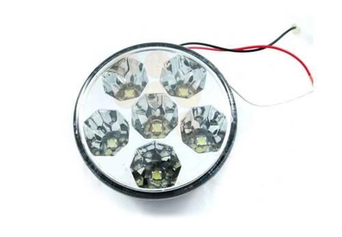 DRL 13 PREMIUM | Lights HIGH POWER LED daytime running | round  90 mM