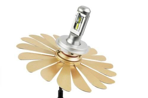 H4 LED set ZES Zdatt   100W 12000 lm   DAY NIGHT