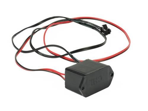 Inverter / converter to fiber Ambient Light El Wire