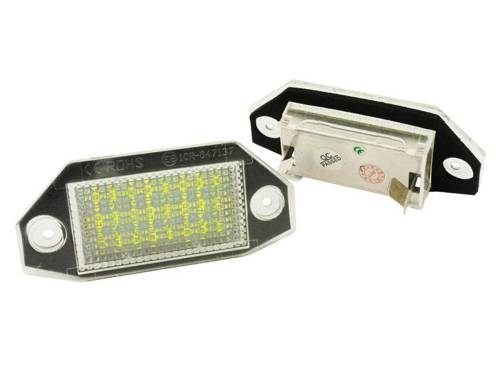 PZD0050 FORD MONDEO MK III LED license plate lights. 2000-2007