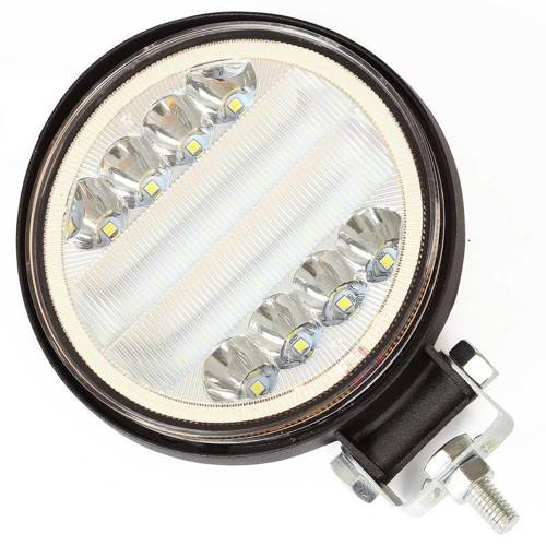 WL1045-126W Round   Solid color   Working Lamp 126W LED SINGLE