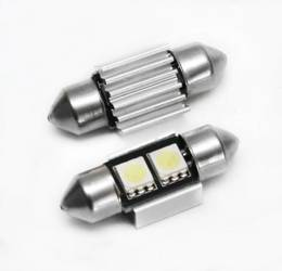C5W LED-Birnen-Auto 2 5050 SMD CAN BUS