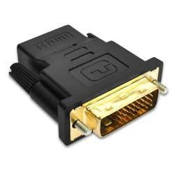 HD24-1   Adapter HDMI - DVI   GOLD   4K   3D