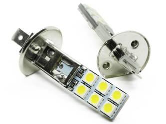 LED-Lampe Auto-H1 12 SMD 5050