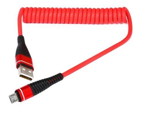 AM32   Micro-USB-1M   Coiled USB-Kabel Ihr Telefon aufzuladen   Quick Charge 3.0 2.4A