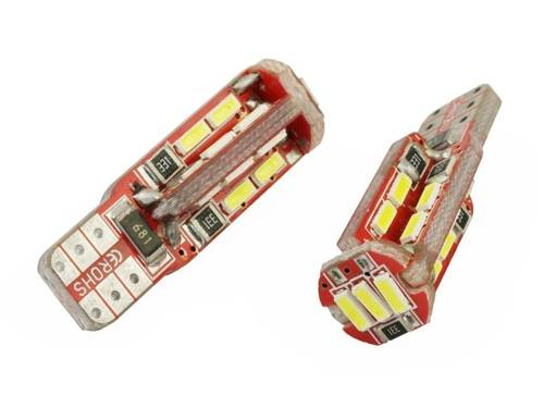 Auto-LED-Lampe W5W T10 4014 19 SMD CAN BUS