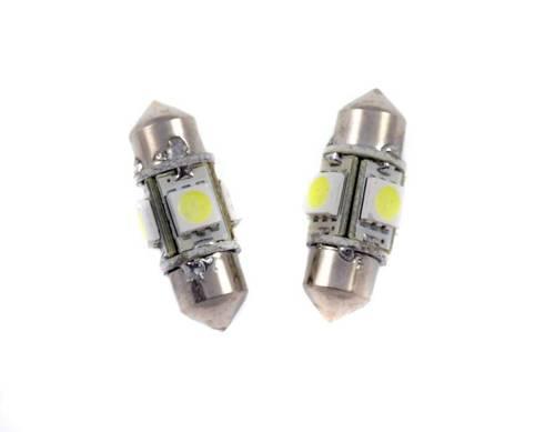 Birne C5W Auto-LED 4 SMD 5050 360st