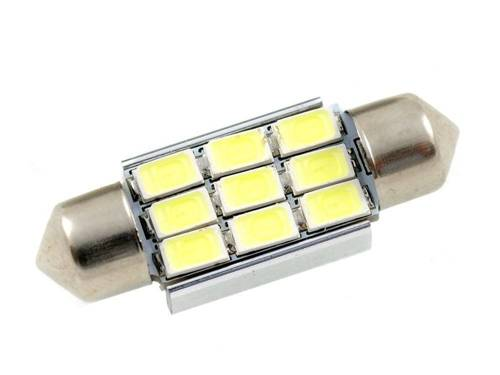 C5W LED-Birnen-Auto 9 SMD 5630 CAN BUS