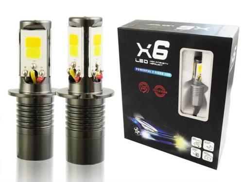 COB LED-Lampen Set H3 DUAL COLOR JDM