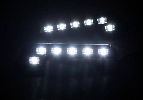 DRL 09 | L-form LED-Tagfahrlicht mit FLUX dioden