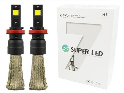 Eine Reihe von LED-Lampen H9 H11 F7 60W COB 16000lm