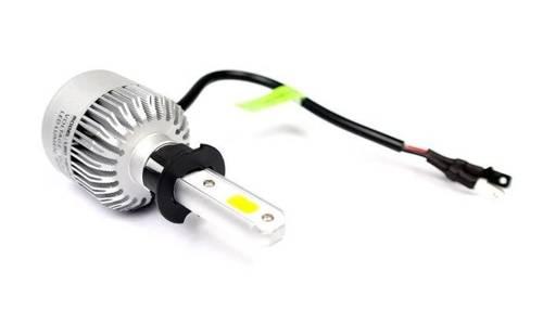 LED-Birne H3 6 Bridgelux COB Truewhite ™ Technologie 4000 lm - 1 Stück - Versions-Motorrad