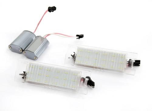 PZD0057 LED-Hintergrundbeleuchtung Platte Opel Insignia, Adam, Astra, Vectra, Corsa, Meriva, Vectra, Zafira, Tigra