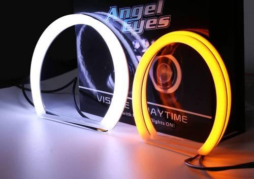 Set Ringe COTTON COB LED DUAL COLOR   A + B - 131 mm + 146 mm