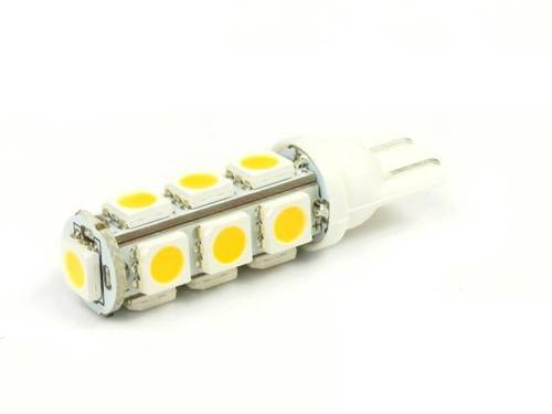 WW LED-Birnen-Auto T10 W5W 13 SMD 5050 White Heat
