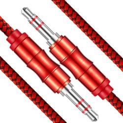 AB-1-1.5M | Kabel mini Jack 1,5M - 5 kolorów