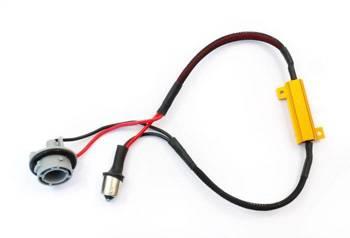 D-50W-8-BA15S | Filtr LED CAN BUS 50W 8Ω - oprawka P21W / Ba15S