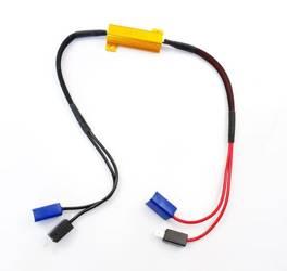 D-50W-8-H1 | Filtr LED CAN BUS 50W 8Ω - oprawka H1