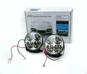 DRL 05 | Światła LED do jazdy dziennej | okrągłe ø 70 mm