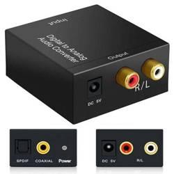 F101 | Konwerter sygnału AUDIO - Coaxial / Toslin SPDIF - RCA