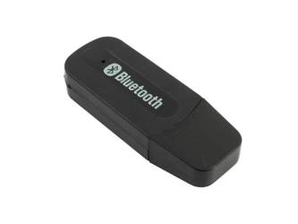 M1-Black | Odbiornik Audio | Adapter Transmiter Bluetooth AUX USB