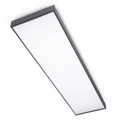 Panel sufitowy LED 50W 120x30 cm   Natynkowy panel CCD niemrugający