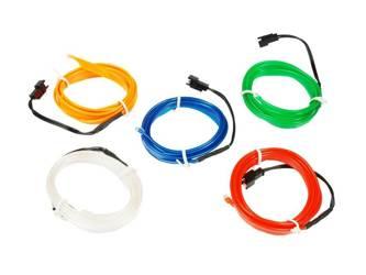 Światłowód Ambient Light El Wire | 4 metry