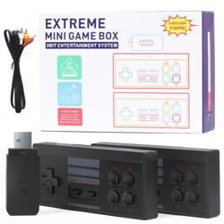 X-09-LD   Retro konsola MINI GAME BOX USB   848 gier w jakości HD 720p