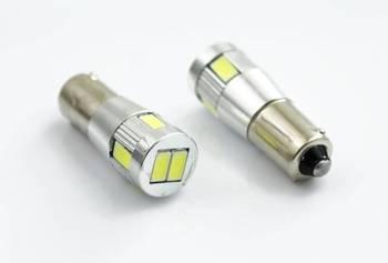 Żarówka samochodowa LED BA9S 6 SMD 5630 POWER CAN BUS