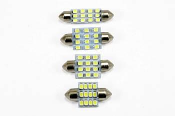 Żarówka samochodowa LED C5W 12 SMD 1210