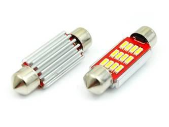 Żarówka samochodowa LED C5W 12 SMD 4014 CAN BUS
