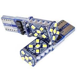Żarówka samochodowa LED W5W T10 15 SMD 3014 CAN BUS