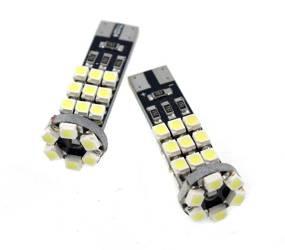 Żarówka samochodowa LED W5W T10 24 SMD 1210 CAN BUS 2