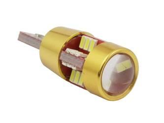 żarówka samochodowa LED W5W T10 27 SMD 3014 CAN BUS GOLD