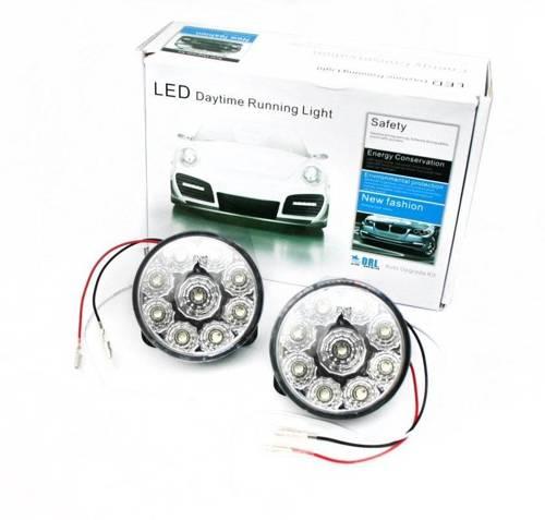 DRL 04   Światła LED do jazdy dziennej   okrągłe ø 70 mm