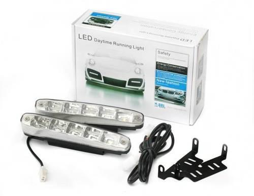 DRL 07   Światła LED do jazdy dziennej   skośne