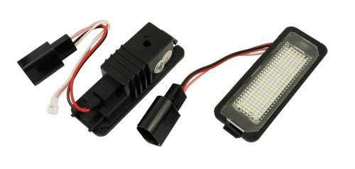LHLP016S28 Podświetlenie tablicy rejestracyjnej LED VW Golf 4 5 6, Passat B6 B7 CC, Polo, Seat Leon, Ibiza, Porsche Cayenne