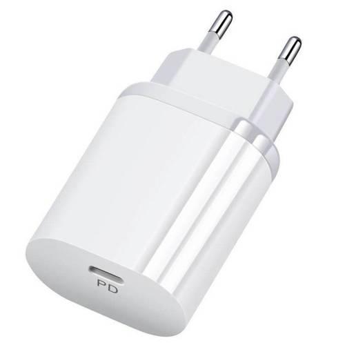 PD-70-White   Ładowarka sieciowa 18W   USB-C Power Delivery 3.0
