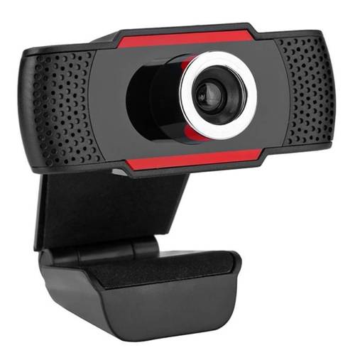 Q10-Black | Kamerka internetowa FULL HD | Autofocus | Sensor F37 Multi-Lens 1080p